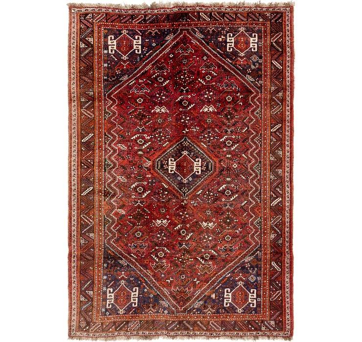 5' 10 x 8' 5 Ghashghaei Persian Rug