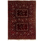 Link to 6' x 8' 5 Afghan Akhche Oriental Rug