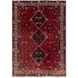 7' 2 x 10' Ghashghaei Persian Rug