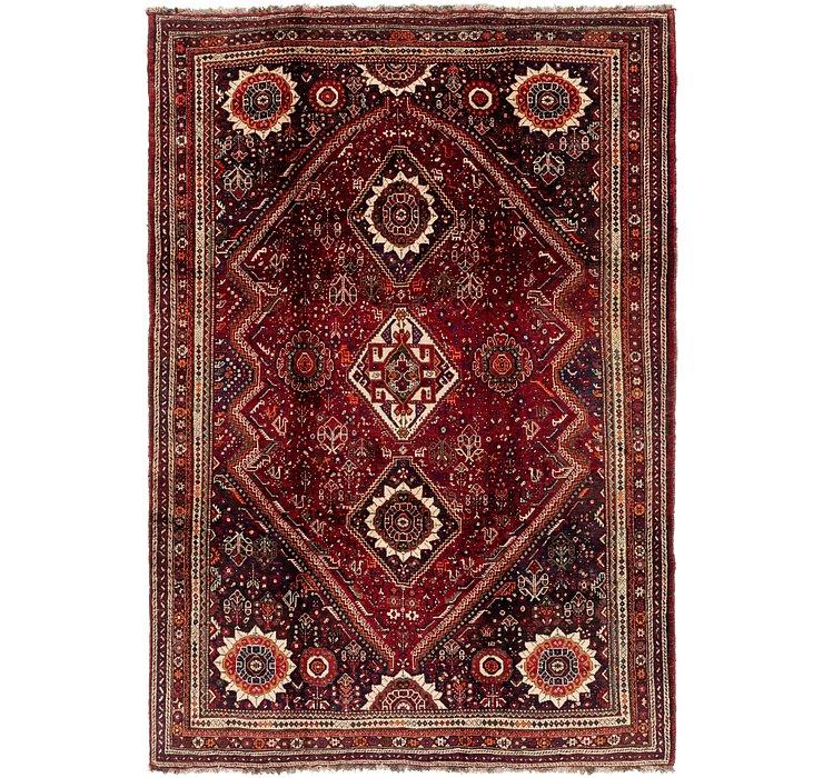 213cm x 305cm Ghashghaei Persian Rug
