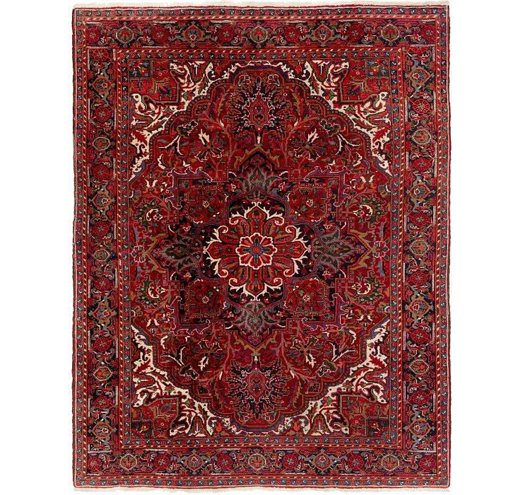 7' 4 x 9' 4 Heriz Persian Rug