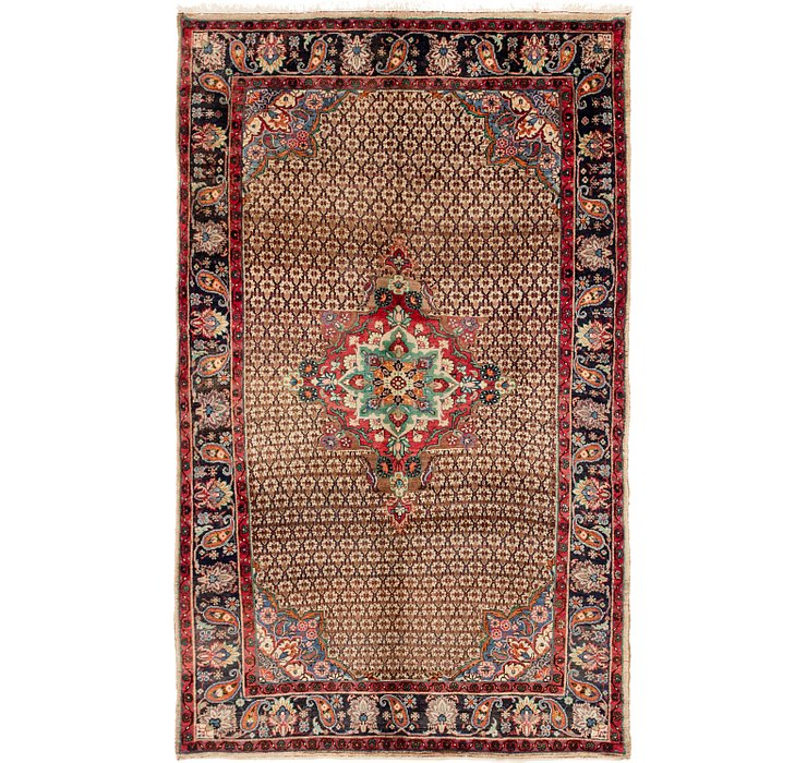 5' 5 x 8' 10 Songhor Persian Rug