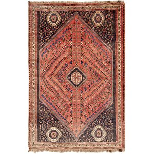 5' 5 x 8' 5 Ghashghaei Persian Rug