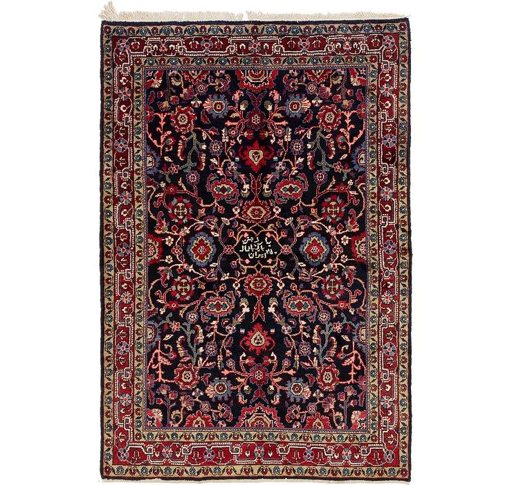 5' 4 x 8' Shahsavand Persian Rug