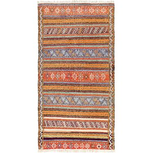 4' 6 x 8' 8 Moroccan Rug