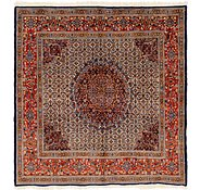 Link to 6' 6 x 6' 10 Mood Persian Square Rug