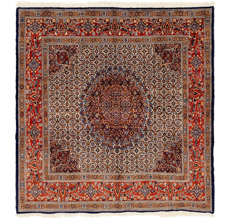 6' 6 x 6' 10 Mood Persian Square Rug