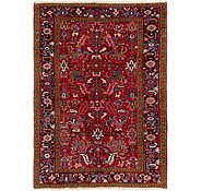 Link to 5' 8 x 8' Heriz Persian Rug
