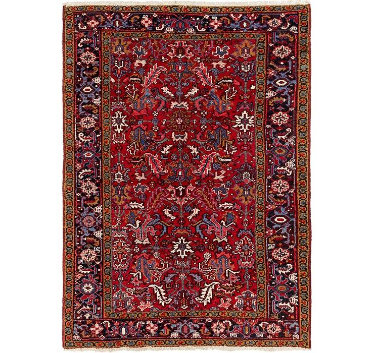 5' 8 x 8' Heriz Persian Rug