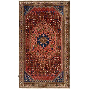 HandKnotted 5' 3 x 9' 2 Shiraz Persian Rug