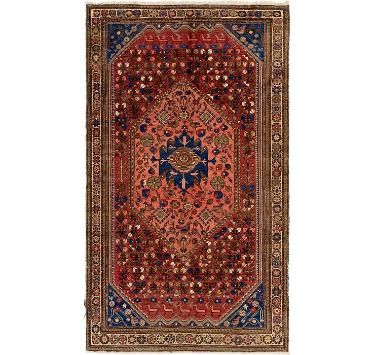 5' 3 x 9' 2 Shiraz Persian Rug