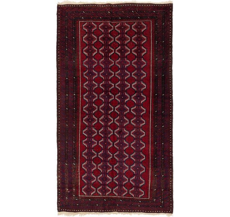 5' x 8' 10 Balouch Persian Rug