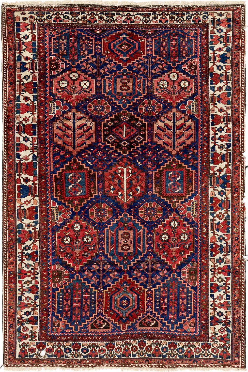 Main Handknotted 6 10 X Bakhtiar Persian Rug Photo