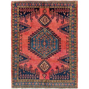 5' 2 x 6' 10 Viss Persian Rug