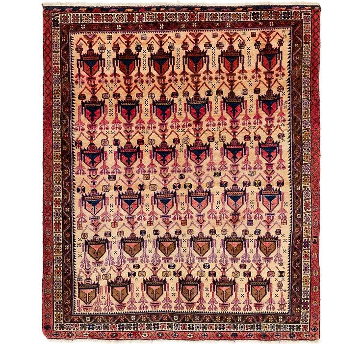5' 3 x 6' 5 Yalameh Persian Rug