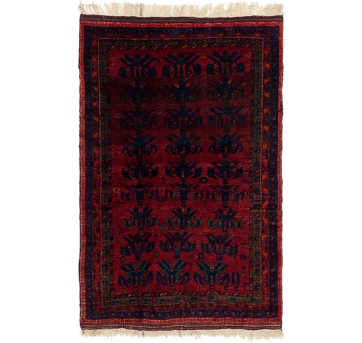 4' 5 x 7' Shiraz Persian Rug