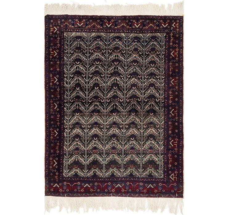 4' 7 x 5' 10 Balouch Persian Rug