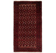 Link to HandKnotted 3' 6 x 6' 4 Balouch Persian Rug