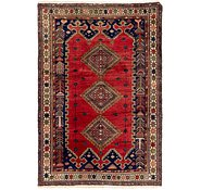 Link to 4' 6 x 6' 6 Yalameh Persian Rug
