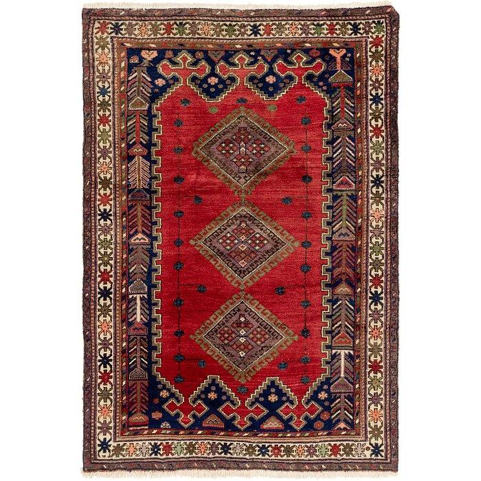 4' 6 x 6' 6 Yalameh Persian Rug