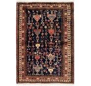 Link to 122cm x 178cm Ghashghaei Persian Rug