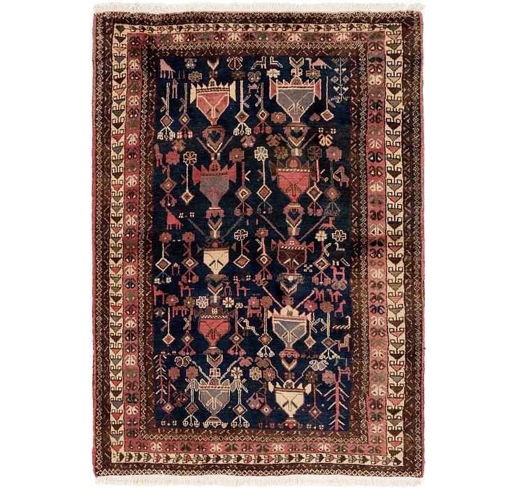 4' x 5' 10 Ghashghaei Persian Rug