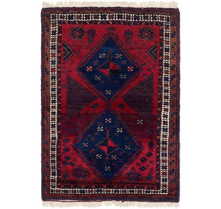 3' 10 x 5' 6 Hamedan Persian Rug