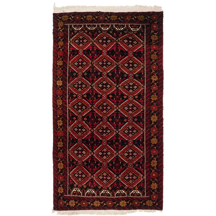 3' 8 x 6' 9 Balouch Persian Rug