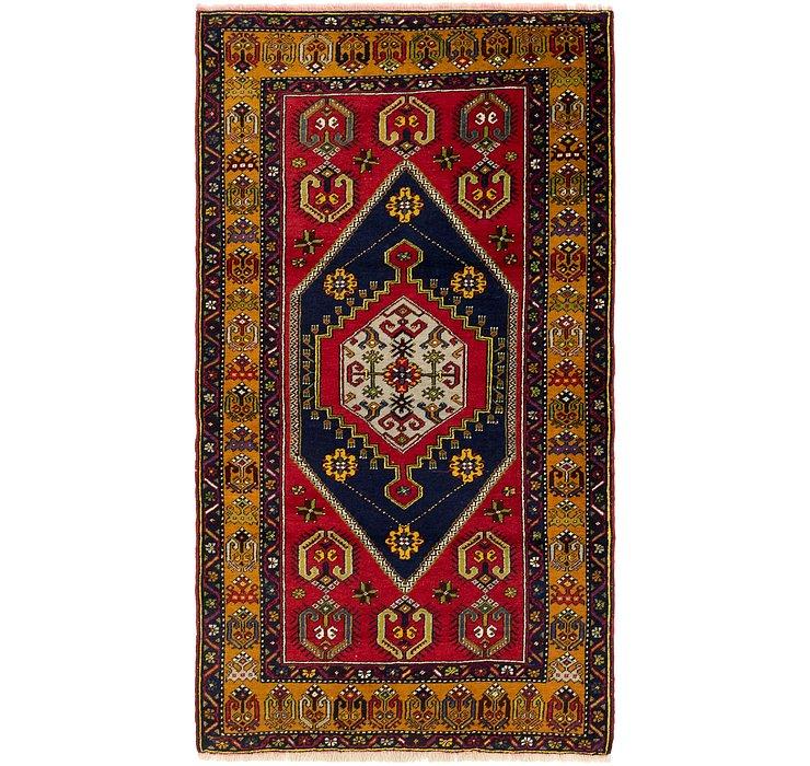 4' x 7' 4 Anatolian Rug