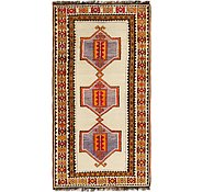 Link to 3' 10 x 7' 2 Shiraz-Gabbeh Persian Runner Rug