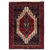 Link to 122cm x 163cm Senneh Persian Rug