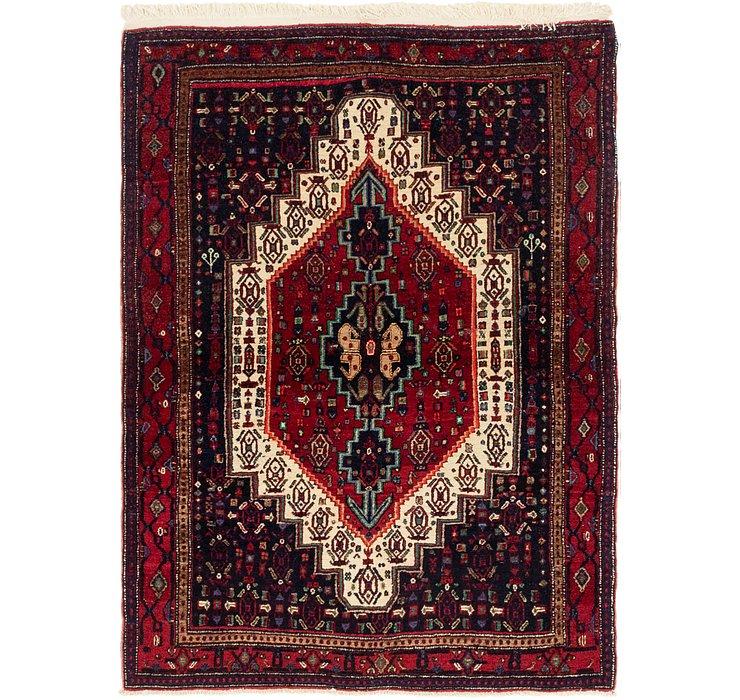 4' x 5' 4 Senneh Persian Rug