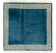 Link to 4' 10 x 4' 10 Nepal Square Rug