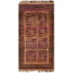 Unique Loom 4' 3 x 8' 3 Shiraz Persian Rug