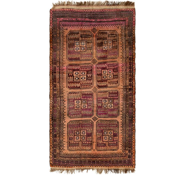 4' 3 x 8' 3 Shiraz Persian Rug