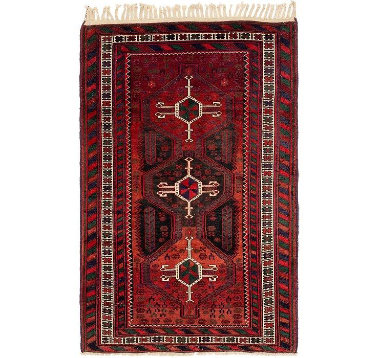 137cm x 213cm Balouch Persian Rug