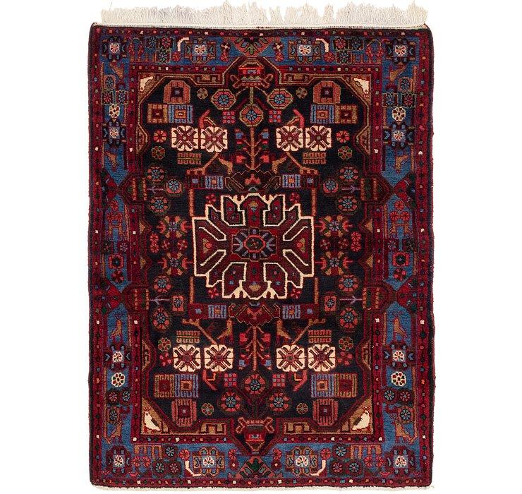 115cm x 165cm Nahavand Persian Rug