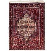 Link to 122cm x 160cm Senneh Persian Rug