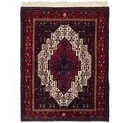 Link to 122cm x 157cm Senneh Persian Rug