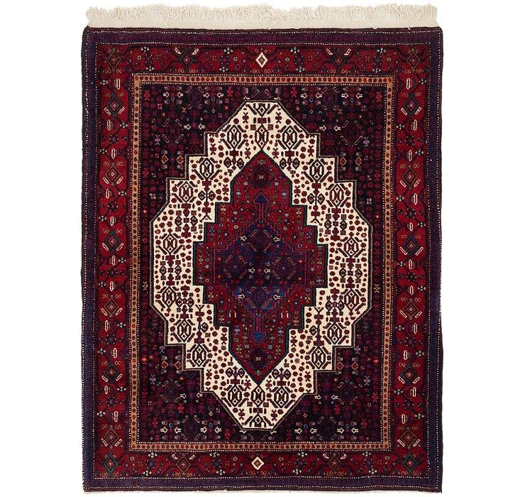 4' x 5' 2 Senneh Persian Rug