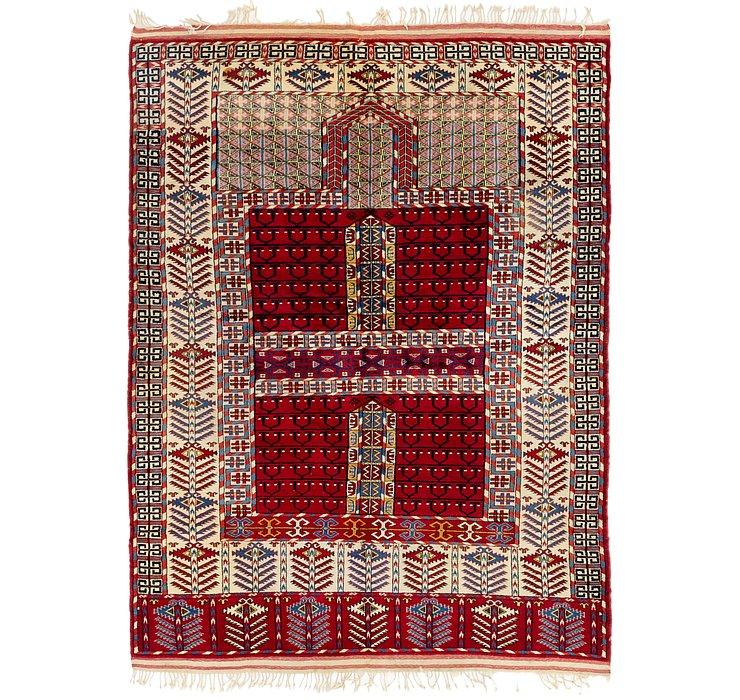 5' 2 x 7' Shirvan Persian Rug
