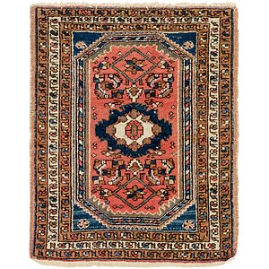 2' 2 x 2' 10 Hamedan Persian Rug
