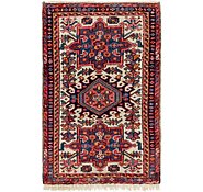 Link to 2' x 3' 2 Gharajeh Persian Rug