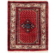 Link to 2' 4 x 3' Hossainabad Persian Rug