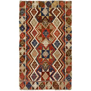 1' 8 x 2' 10 Moroccan Rug