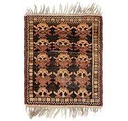 Link to 1' 9 x 2' 4 Shiraz Persian Rug