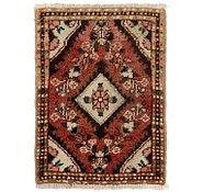 Link to 1' 4 x 2' Darjazin Persian Rug