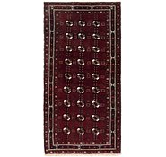 Link to 3' 7 x 7' 7 Balouch Persian Runner Rug