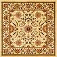 Unique Loom 7' 10 x 7' 10 Classic Agra Square Rug thumbnail image 1