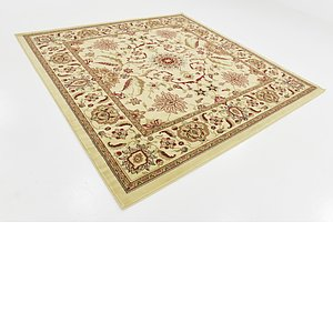 Unique Loom 7' 10 x 7' 10 Classic Agra Square Rug